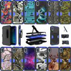 For Apple iPhone X | Apple iPhone 10 (2017) Dual Layer Blue Case Camos