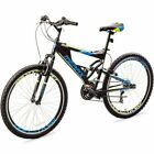 "Merax Mens Mountain Bike 21 Speed Aluminium Frame Bicycle 26"" Wheels Nice Ride"