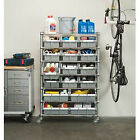 seville storage - Seville Classics 7-shelf Commercial Bin Rack Storage System