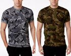 Ralph Lauren Polo Men's S/S Camouflage Waffle Knit Thermal Crew-Neck T-Shirt