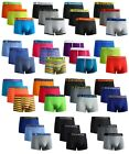 6,12 Pack Mens Boxer Cotton Rich Shorts Hipster Trunks Underwear In S,M,L,XL New