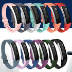 Replacement Soft Silicone Wrist Band Strap Clasp Buckle For Fitbit Alta HR