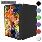 Stained Glass Pattern Smart Case Cover For Apple iPad Mini 1 2 3 - S3545