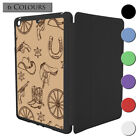 Wild West Pattern Smart Case Cover For Apple iPad Mini 1 2 3 - S3573