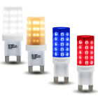 BLUE RED WHITE WARM G9 LED 3W Light Bulb Replacement For Halogen Capsules G9