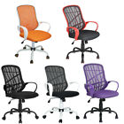Adjustable Mid-Back Mesh Office Swivel Task Chair Computer Chair Multiple Colors