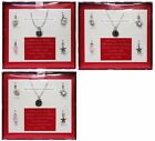 ACCESSORY*6pc Set INITIAL NECKLACE Courage+Luck+Love+Strength CHARM *YOU CHOOSE*