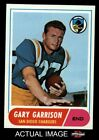 1968 Topps #36 Gary Garrison Chargers NM/MT $29.5 USD