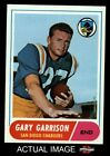 1968 Topps #36 Gary Garrison Chargers NM/MT $29.5 USD on eBay
