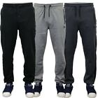 Mens Bottoms Dissident Jogging Trousers Mesh Trim Fleece Lined Gym Casual New