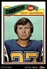 1977 Topps #475 Gary Garrison Chargers EX $0.99 USD