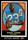 1967 Topps #121 Paul Lowe Chargers EX $5.5 USD on eBay