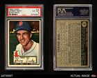 1952 Topps #15 Johnny Pesky Red Sox PSA 6 - EX/MT