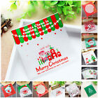 100Pcs Xmas Biscuit/Moon Cake Cookie/Candy/Snack Food Packing Bag Safety