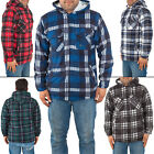 Mens hoodies Fleece Top Padded Work Warm shirts Pullover Zipper Jackets