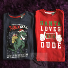 Primark Boys Childs Various Christmas Xmas T-Shirt Top T-Shirts Tops BNWT