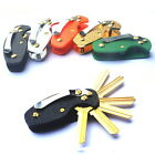 EDC Acrylic Key Holder Organizer Clip Folder Keyring Keychain Pocket Multi Tools
