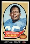 1970 Topps #206 Russ Washington Chargers EX/MT $2.85 USD