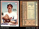 1978 O-Pee-Chee #108 Joe Ker Back Reads with Baltimore as of 12-8-77  Orioles EX