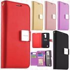 For ZTE Blade Spark 4G Premium Flip Out Pocket Wallet Case Pouch Cover Accessory