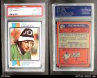1973 Topps #400 Joe Namath Jets PSA 8 - NM/MT