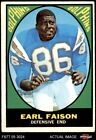 1967 Topps #75 Earl Faison Dolphins Indiana 1.5 - FAIR $7.25 USD on eBay