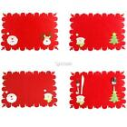 New Santa Claus Deer Snowman Christmas Tree Pattern Outfit Table DZ88