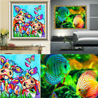 5D Tropical Fish Cow Diamond Embroidery Painting Cross Stitch Mosaic Home Decor