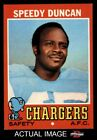 1971 Topps #148 Speedy Duncan Chargers Jackson St 8 - NM/MT $26.5 USD on eBay