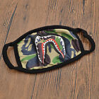 A Bathing Ape Face Mouth Mask Unisex Camo Anti Fog Protective Breathe Bape Masks