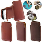 For LG G3 Stylus D690 D690N D693 D693N Genuine Leather Pouch Sleeve Case Cover