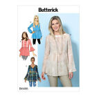 Butterick Sewing Pattern B6486 | Misses Loose Pullover Tops with Bell Sleeves