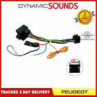 Car Stereo Wiring ISO Adaptor with Ignition Generator for Peugeot 307 2004-2007