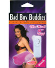 New Bad Boy Buddies Vibrating Mouth - Pink Mastrubator + Cream Gift