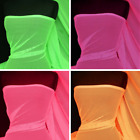 Fishnet 4 Way Stretch Fabric Material- Q1335 Neon Pink Lime Green Orange Cerise