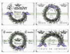 Vintage French Lavender Labels Furniture Transfers Waterslide Decals LAB434