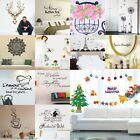 DIY Removable Art Vinyl Wall Sticker Decal Mural Quote Word Home Xmas Room Decor