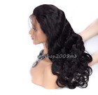 Body Wave Lace Front Remy Pre Plucked Wigs Peruvian With Baby Hair 130% Density