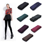 Women Fashion Brushed Stretch Fleece Lined Thick Tights Winter Warm Pants Warm