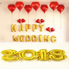 2018Air Ballons Happy New Year Merry Christmas Letters Balloon Event Party Decor
