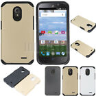 Hybrid Protective Armor Hard Case Shockproof Cover For ZTE Stratos/Allstar LTE