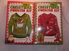 Create Your Own Ugly Christmas Sweater Kit Craft Set