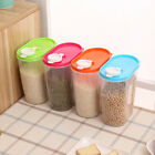 Food Storage Box Plastic Container Grain Bread Rice Cereal Bean Keeper Kitchen