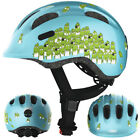 ABUS Smiley 2.0 Fahrradhelm, Kinderhelm, blue croco