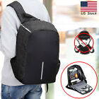 USB Charge Unisex Travel Security School Bag Anti Theft Casual Laptop Backpack
