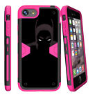 """For Apple iPhone 8 (4.7"""") 2017 Protective Pink Case Belt Clip Kickstand"""
