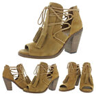 Jessica Simpson Ceri Women's Open-Toe Ankle Booties Boots