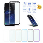 For Samsung Galaxy S7 S8 S8+ Plus 3D Curved Tempered Glass Film Screen Protector
