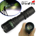 Tactical 8000LM Police CREE T6 LED  Flashlight Cycling Bike 360° Mount Clip A3