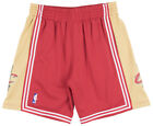 Mitchell and Ness Cleveland Cavaliers 03-04 Swingman Mesh Shorts NBA Mens Red